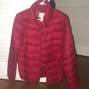 Forever21 Red Puff Jacket